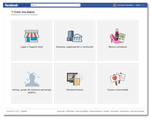Dissenart Crear una Pagina Facebook
