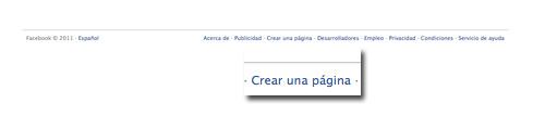 Dissenart: Crear una pagina Facebook