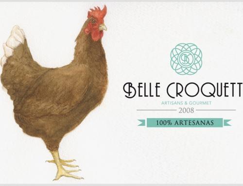 Ilustración para la marca Belle Croquette